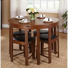 small round dining table set for unique compact inspirations 0