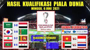 Jadwal timnas kualifikasi piala dunia qatar 2022: Mv1a2hembszcdm