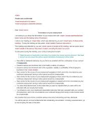 tenancy termination letter template. Termination Letter Template Perfect Samples Lease Employee Contract