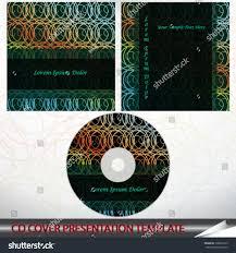 Modern Cd Cover Design Vector Illustration Modern Cd Cover Abstract Stock Vector