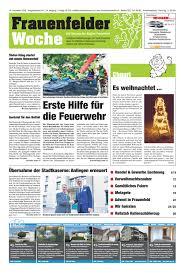 Frauenfelder Woche Ausgabe Kw 46 14 November 2018 By
