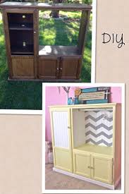 Diy Dress Up Storage Diy Baby Armoire Out Of An Old Entertainment Center Repurposed