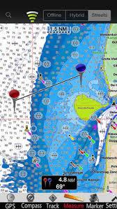 Netherlands Gps Nautical Chart By Mapitech