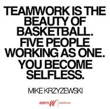 Quotes and Team Bonding on Pinterest | Teamwork, Basketball Quotes ... via Relatably.com