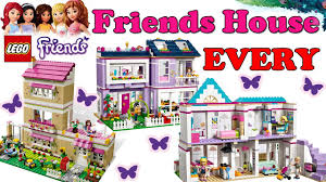 Lego Full House Every Lego Friends Housestephanie Livi Olivia Emma 2012 2017 All