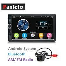 2 Din Araba Android müzik Seti 7 Inç Dokunmatik Ekran 1024*600 Dört  Çekirdekli 1 GB + 16 GB Autoradio Bluetooth/ Wifi/AM/FM/USB/AUX/Arka Kamera  Bu Kategori. Araba Multimedya Oynatıcı