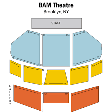 Brooklyn Academy Of Music Seating Chart Brooklyn Academy Of Music Bam Harvey Theater Brooklyn