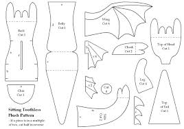 Free Plushie Patterns Beauteous How To Train Your Dragon Toothless Free Pattern I Can't Wait To