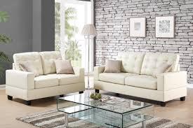 beige leather sofa. Anse Beige Leather Sofa And Loveseat Set L