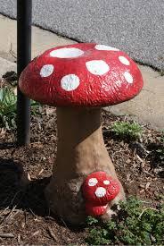decor of mushroom garden decor outdoor decor mushroom rumah mushroom yard decor