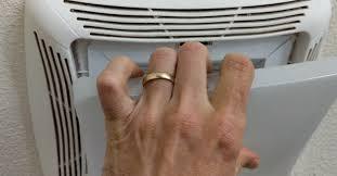remove nutone bathroom fan light cover