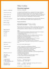 11 Cv Template For Electrical Engineer Theorynpractice
