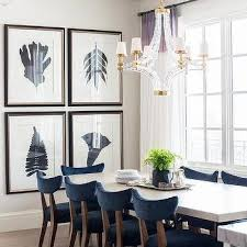 blue dining room furniture. navy blue velvet dining chairs with large crystal cube chandelier room furniture