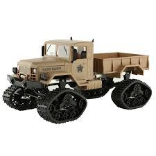 Eco-friendly Liyu FY001B <b>Snow Tire Truck</b> RC <b>Military Truck</b> Four ...