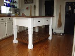 Hand Crafted Rustic Farmhouse Kitchen Island By Matthews