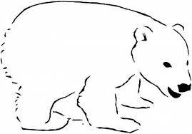 Small Picture The Elegant as well as Stunning Polar Bear Coloring Page for