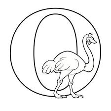 Colors always seem to appeal children, it's more eye catching and attracts them towards stuff because it is easier for them to see. Letter O Coloring Page Etsy