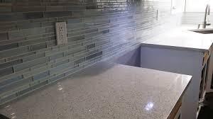 installing glass mosaic tile backsplash diy installation zero experience first