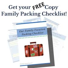 The Best Vacation Packing Checklist For Successful Family Travel