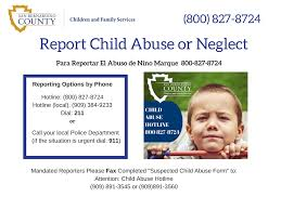 child abuse flyers children and family services how to report child abuse