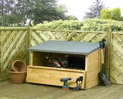 garden storage box wooden. mercia wooden garden storage chest box d