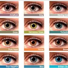 Freshlook Color Chart For Dark Eyes Eye Color 2 Pair