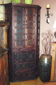 quotthe rustic furniture brings country. Charbel Corner Armoire From The Rustic Gallery #rusticfurniture #rustic Quotthe Furniture Brings Country