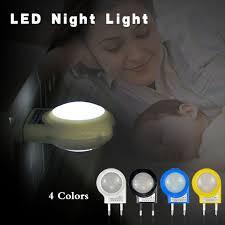 2019 Mini <b>LED</b> Night Light AC <b>110V</b> / <b>220V 1W</b> Lighting Auto Sensor ...