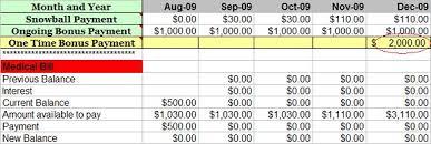 Free Debt Snowball Calculator Program Trees Full Of Money