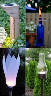 diy garden lighting ideas. Beautiful DIY Garden Path Lights. Diy Lighting Ideas