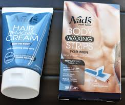 nads mens hair removal cream wax strips