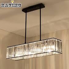 3 light retro vintage american lighting crystal chandelier for dining room restaurant lamp pendant hanging iron stem outdoor pendant lights hanging lights