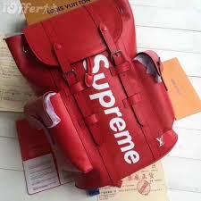 new supreme backpack 1 1 men s women s travel bags