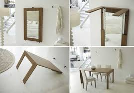 space saving furniture table. folding table for space saving interior design furniture p