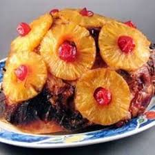 cooked ham with pineapple.  Pineapple Photo Of BourbonGlazed Ham By Jennifer To Cooked With Pineapple P