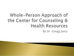 Dr Gregg Jantz Whole Person Approach Of The Center For Counseling Health Resources