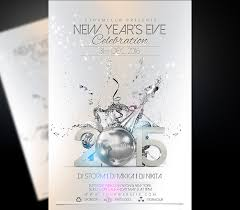 Flyer Poster Templates Happy New Year Party Flyer Template V2
