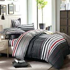 red bedding sets queen grey and stripes printing s on lavish home eve green piece king