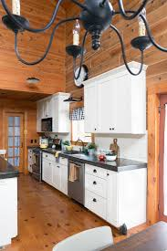white beadboard bedroom cabinet furniture. Log Home Kitchen With White Cabinets, Beadboard, And Black Concrete Countertops Beadboard Bedroom Cabinet Furniture