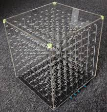 diy lighting effects. 888 3d led light cube with animation effects cube diy diy lighting