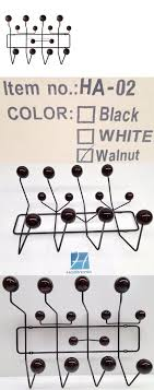 Eames Coat Rack Walnut Hooks And Hangers 100 Charles Eames Style Hang It All Coat Hanger 66