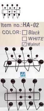 Eames Coat Rack Walnut Hooks and Hangers 100 Charles Eames Style Hang It All Coat Hanger 66