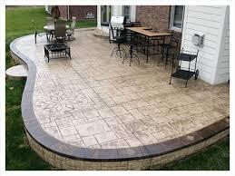 Impressive on Stamped Concrete Patio Design Ideas Concrete