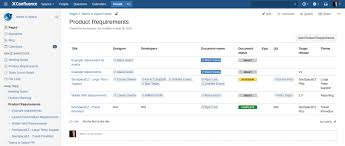 Intranet Requirements Template End To End Traceability Of Requirements With Atlassian And