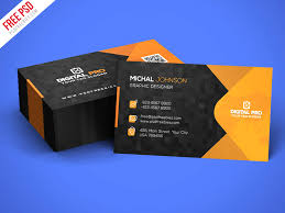 free template for business cards free psd modern corporate business card template psd by psd