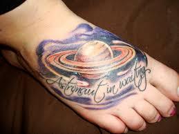 фото и значение тату сатурн