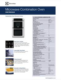 electrolux wall ovens 27 wall oven and microwave combination electrolux 27 wall oven and microwave combination wave touch controls ew27mc65js manual
