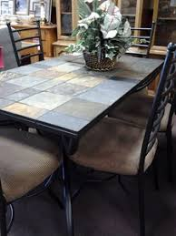 alfa img showing tile top tables dining room furniture tucker