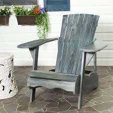 safavieh mopani all weather patio lounge chair in ash gray 1 piece