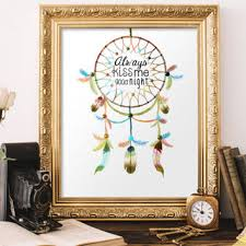 Dream Catcher Sayings Woodland Mobile Feather Decor Black And From BlueDreamcatcher 38